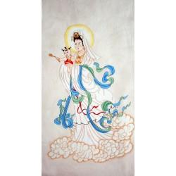 Chinese Guanyin Painting - CNAG014678