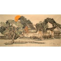 Chinese Landscape Painting - CNAG014687