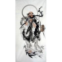 Chinese Bodhidharma Painting - CNAG014879