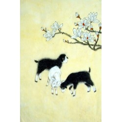 Chinese Sheep Painting - CNAG015000