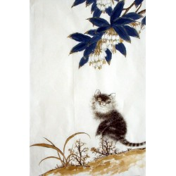 Chinese Cats Painting - CNAG015004