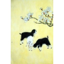 Chinese Sheep Painting - CNAG015012