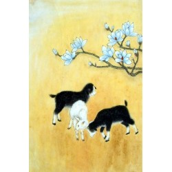 Chinese Sheep Painting - CNAG015021