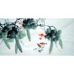 Chinese Flowers&Trees Painting - CNAG015076