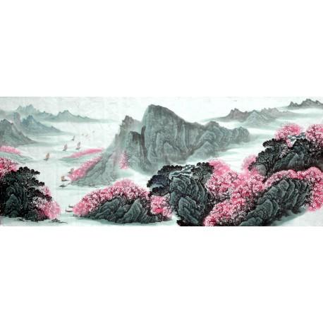 Chinese Landscape Painting - CNAG015088