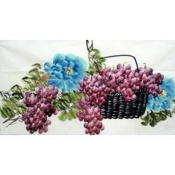 Chinese Grapes Painting - CNAG015131