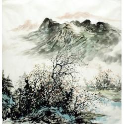 Chinese Landscape Painting - CNAG015293