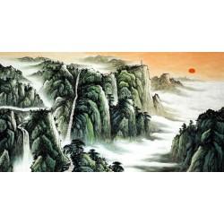 Chinese Pine Painting - CNAG015392