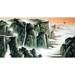 Chinese Pine Painting - CNAG015394