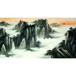 Chinese Pine Painting - CNAG015396