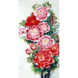 Chinese Peony Painting - CNAG007035