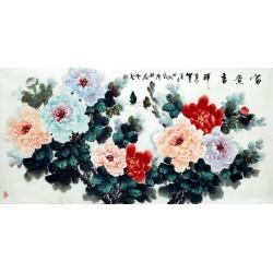 Chinese Peony Painting - CNAG007085