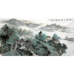 Chinese Landscape Painting - CNAG007111