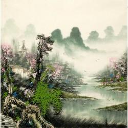 Chinese Cursive Scripts Painting - CNAG007267