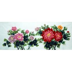 Chinese Peony Painting - CNAG007355