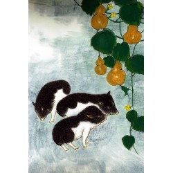 Chinese Pig Painting - CNAG007495