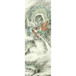 Chinese Dragon Painting - CNAG007769