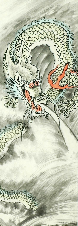 Chinese Dragon Painting - CNAG007769