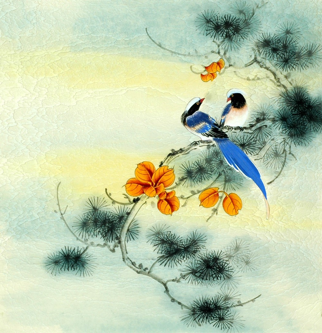 Chinese Flowers&Trees Painting - CNAG007796
