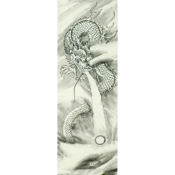 Chinese Dragon Painting - CNAG007951