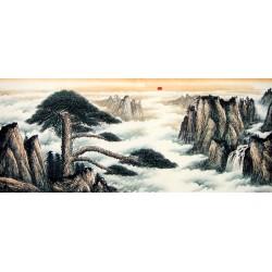 Chinese Pine Painting - CNAG007959