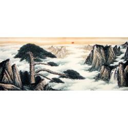 Chinese Pine Painting - CNAG007962