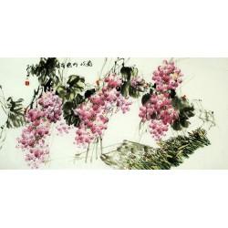 Chinese Grapes Painting - CNAG008035
