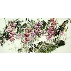 Chinese Grapes Painting - CNAG008037