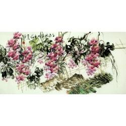 Chinese Grapes Painting - CNAG008040