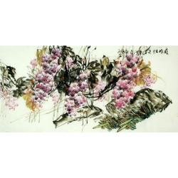 Chinese Grapes Painting - CNAG008048