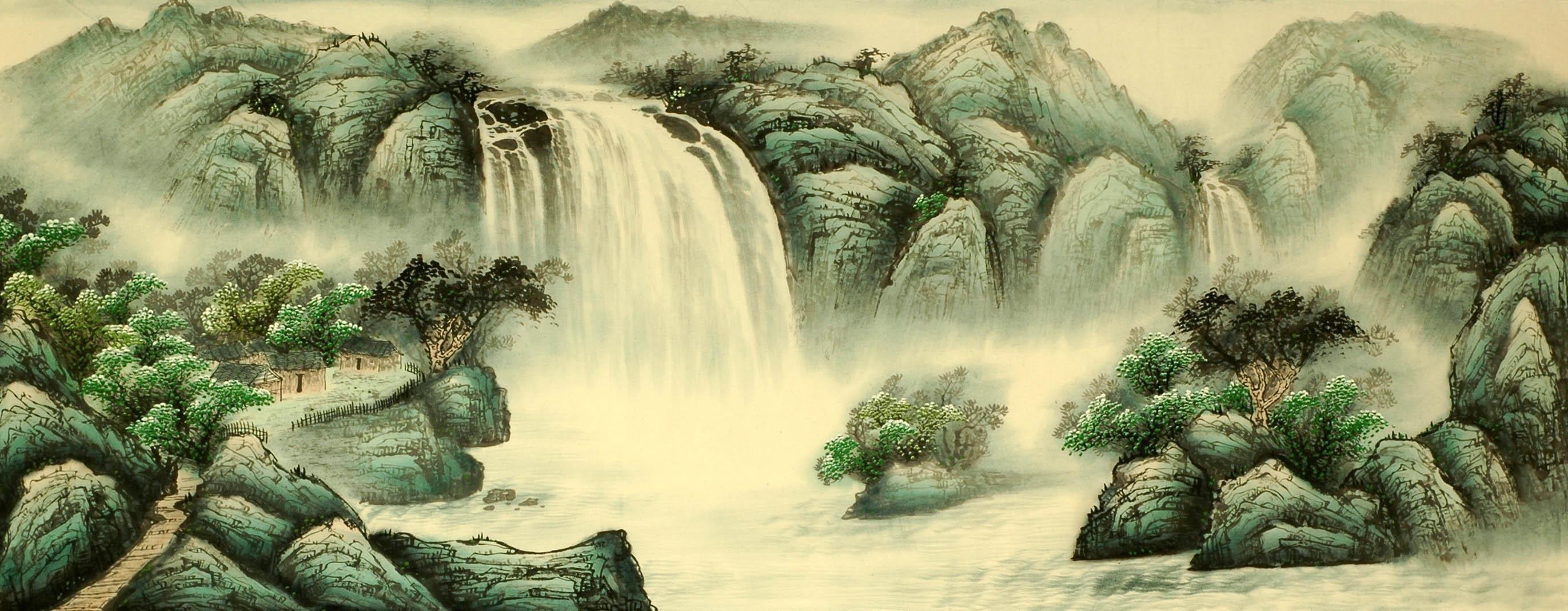 Chinese Landscape Painting - CNAG008152