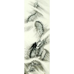 Chinese Dragon Painting - CNAG008222