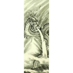 Chinese Dragon Painting - CNAG008224