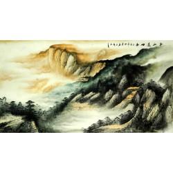 Chinese Landscape Painting - CNAG008237