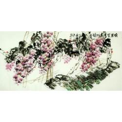 Chinese Grapes Painting - CNAG008259