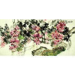 Chinese Grapes Painting - CNAG008262