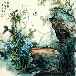 Chinese Flowers&Trees Painting - CNAG008320