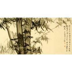 Chinese Bamboo Painting - CNAG008342