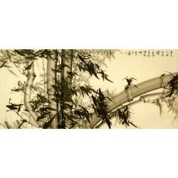 Chinese Bamboo Painting - CNAG008345