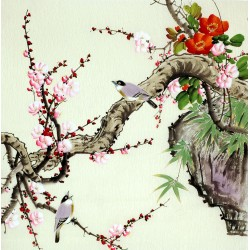 Chinese Flowers&Trees Painting - CNAG008477