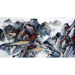 Chinese Landscape Painting - CNAG008508