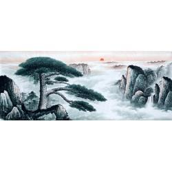 Chinese Pine Painting - CNAG008551