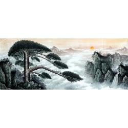 Chinese Pine Painting - CNAG008552