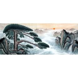 Chinese Pine Painting - CNAG008553