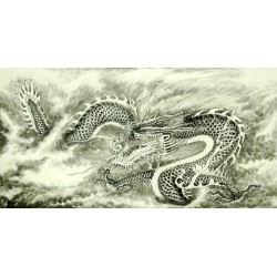 Chinese Dragon Painting - CNAG008723