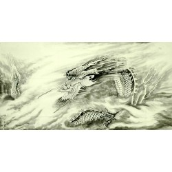 Chinese Dragon Painting - CNAG008724