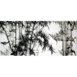 Chinese Ink Bamboo Painting - CNAG008822