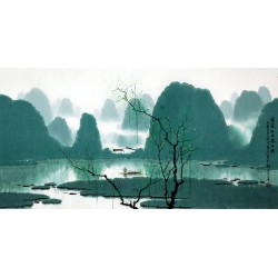 Chinese Aquarene Painting - CNAG008828