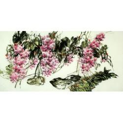 Chinese Grapes Painting - CNAG008871