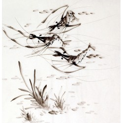 Chinese Shrimp Painting - CNAG008909